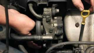 How to Change Power Steering Pump Hyundai videos
