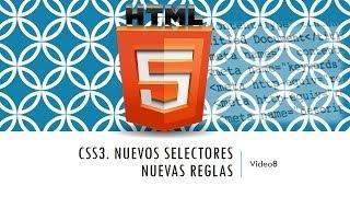 Curso de HTML 5. Parte 8