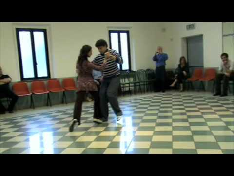 Tango Lesson: Sacada y Barrida - Intermediate Level @ Siena by Claudio Forte y Barbara Carpino