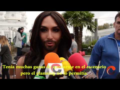 Conchita Wurst, Gay Pride Madrid 2014