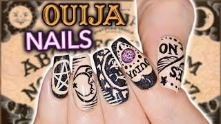 DIY OUIJA NAIL ART *not clickbait* *actual nail art* *emergency*