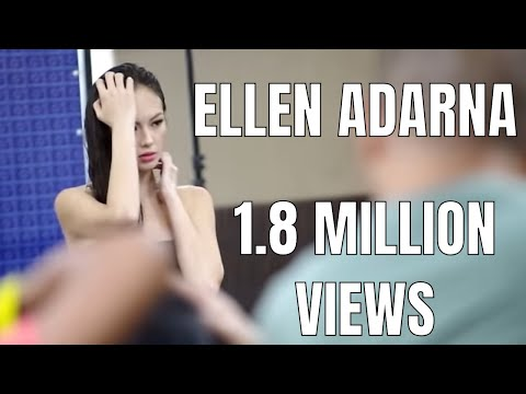 Ellen Adarna is wet in the shower