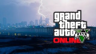 GTA 5: Tsunami & Water Flood Mods Or Glitch? Underwater