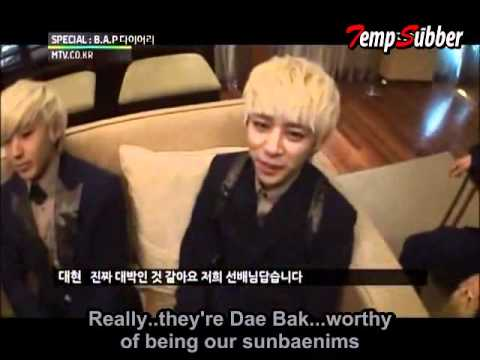 [ENG] B.A.P. Diary Episode 1 [2 of 2] [READ DESCRIPTION], Video Clip by BAPTadah Subbed by Yours Truly ~~~~~~~~~~~~~~~~~~~~~~~~~~~~~~~~~~~~~~~~~~~~~~~~~~~~~~~~~~ Sorry I had to break this in two but this account won...