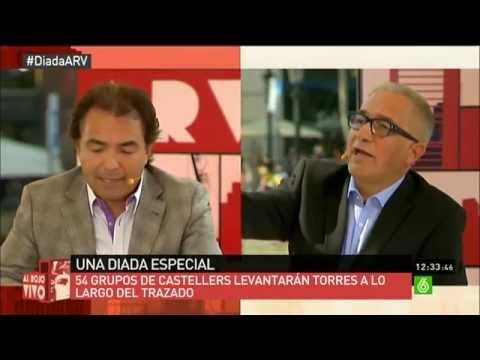 AL ROJO VIVO: Especial Diada. Debate Cataluña independencia de España SI / NO (1 de 2)