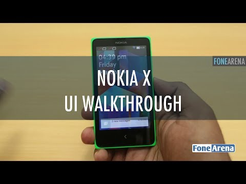 Nokia X UI Walkthrough - Fastlane and Default Apps