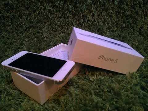 iPhone5 32gb weiß | Unboxing