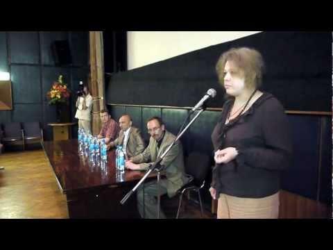 Коктыш на презентации фильма, посвящённого Автуховичу