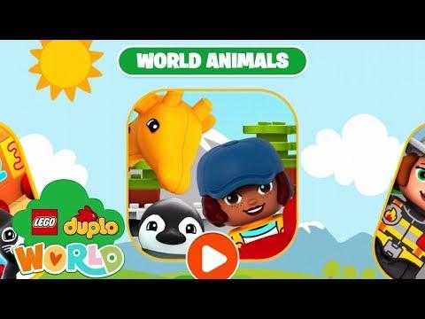 LEGO DUPLO WORLD - Unlock all Games World Animals   iPad Gameplay