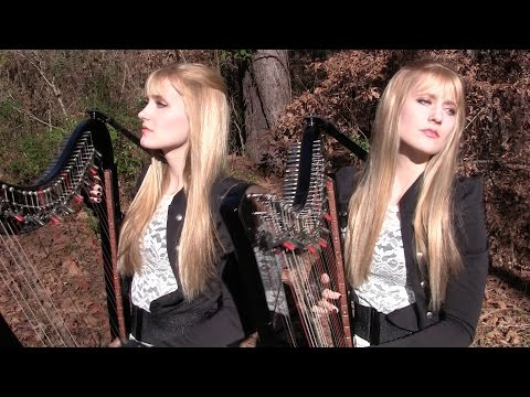 METALLICA - The Unforgiven (Harp Twins electric) Camille and Kennerly