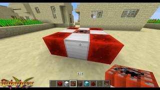 Como hacer una Bomba Atómica de Redstone en Minecraft