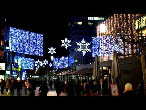 Frankfurt, Germany: Christmas Market Full Tour (HQ)