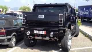 Hummer H2 modified - Spotted in St-Tropez videos