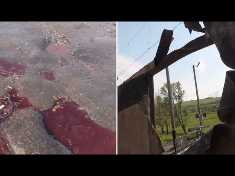 'This is war!': Blood puddles, bullet traces, rocket holes as Slavyansk op enters active phase