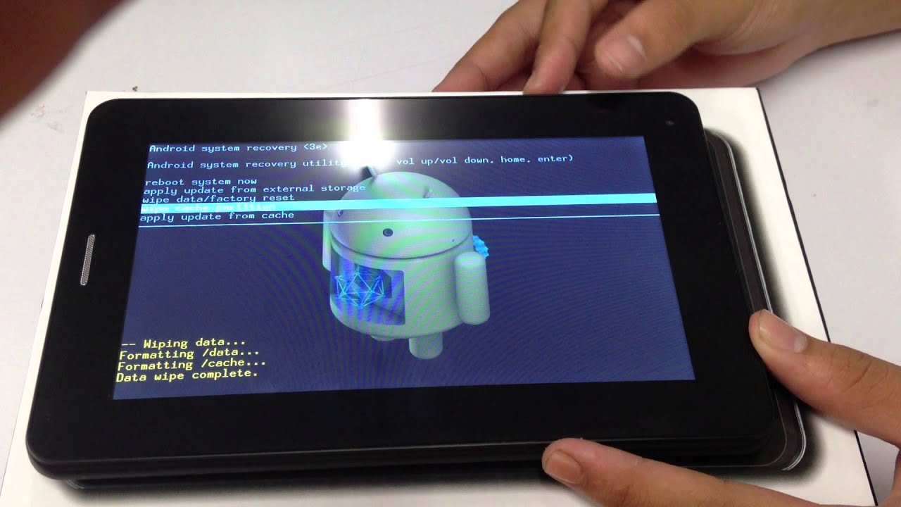 How to Factory Reset Tablet