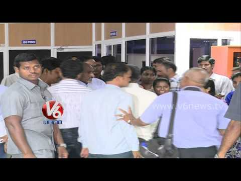 CM KCR Visits Marri Chennareddy Human Resources Center