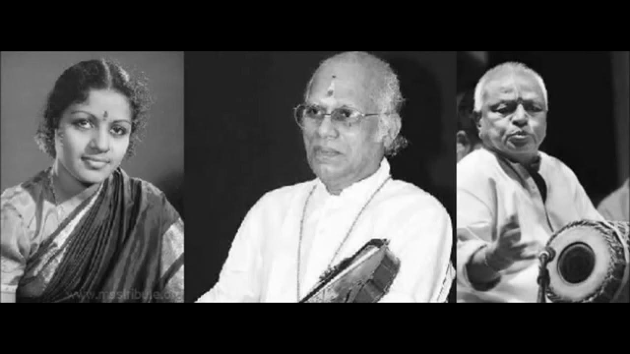 M.S. Subbulakshmi, V.V. Subrahmanyam, T.K. Murthy Full Concert- 1967, Music Academy