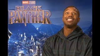 Michael B Jordan On His Black Panther Underwear, Body and Chicken Fillets | Joshington Hosts