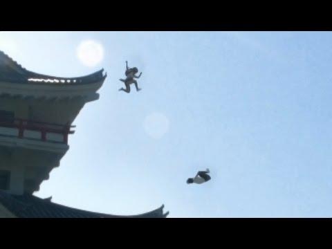 Ǧ�Խ��ҹ��� | ���������ž | japanese school girl chase  #ninja #boredoms