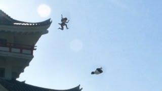 Gadis - gadis Sekolah di jepang ternyata ninja