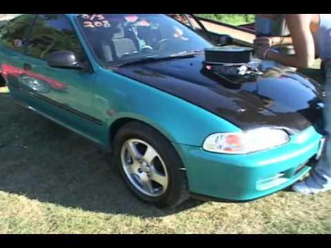 Nyce1s com v8 powered honda civic hatchback nopi new for V8 honda civic