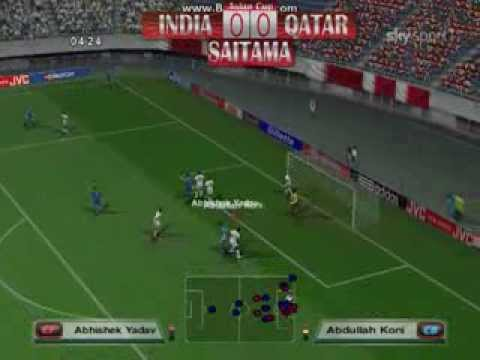 PES6 2013 Japan Asian Cup - Group B - India x Qatar - 2nd Fixture