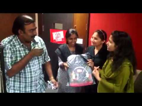 Red FM Hyderabad's BindeAata with Chandra Sidharth