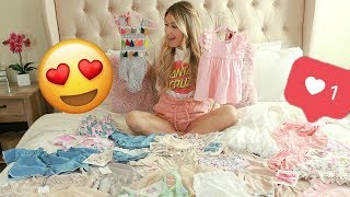 TODDER & BABY GIRL SMALL SHOPS HAUL | HUGE CLOTHING HAUL | Tara Henderson