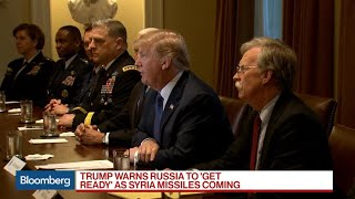 Trump Warns Russia 'Get Ready,' Syria Missiles Coming