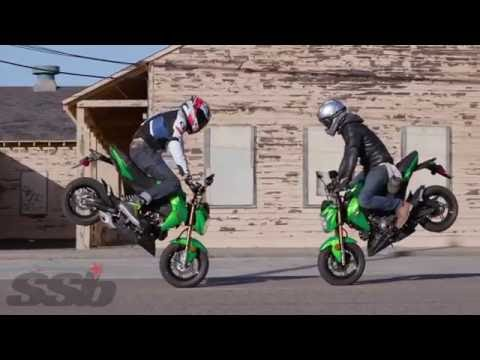 2017 Kawasaki Z125 Pro First Ride