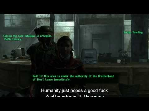 Playing Fallout 3 Part 58 (House of Porns)
