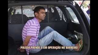 Pol�cia prende nove em opera��o no Barreiro