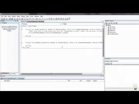5.13 Simple data editing in Visual Basic and Saving to Access