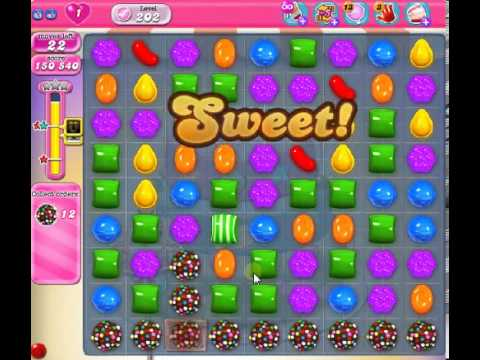How to beat Candy Crush Saga Level 202 - 3 Stars - No Boosters - 369