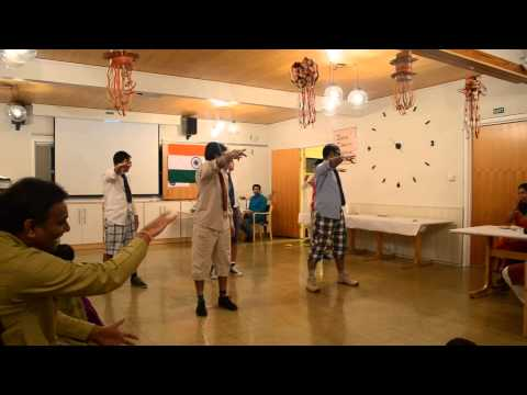 funny group dance on bollywood tracks - chavat boys