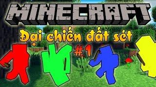 Oops Club Minecraft Đại Chiến Đất Sét Tập 1: ĐỘI QUÂN HÙNG MẠNH