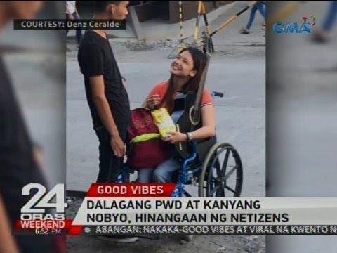 Dalagang PWD at kanyang nobyo, hinangaan ng netizens