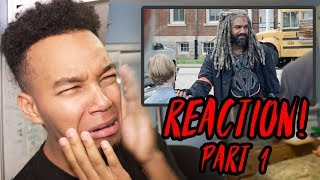 "The Walking Dead Season 8 Episode 4 ""Some Guy"" REACTION! (Part 1)"