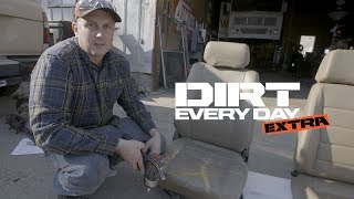 Upgrading Landcruiser seats to a set of Corbeau's - Dirt Every Day Extra. MotorTrend.
