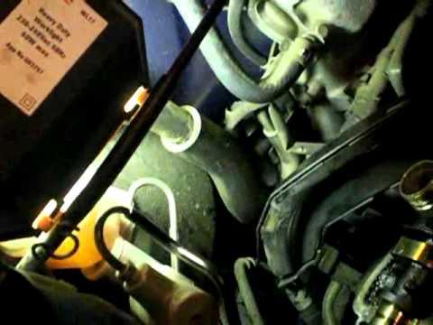 Установка ремня ГРМ на двигателе 3S-FE