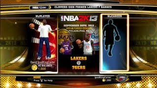 NBA 2K13 New Home Menu New Modes To Play New