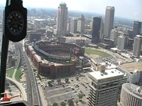 Helicopter Ride - Downtown St. Louis on July 9, 2011.