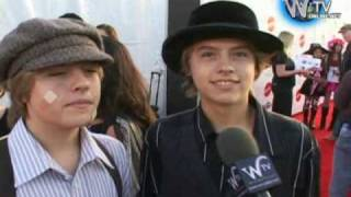 Dylan And Cole Sprouse Interview At Children Affected By