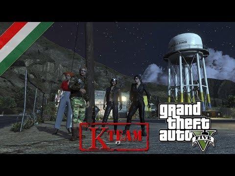 Grand Theft Auto V Online: Pacific Standard - Heist part 1 Co-op Gameplay #55 (PC) (HUN) (HD)