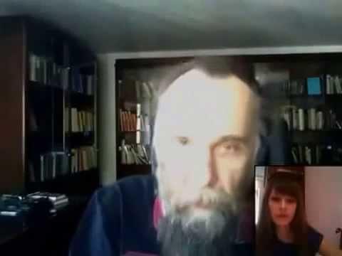 Русский фашист Дугин - консультирует Украинских сепаратистов