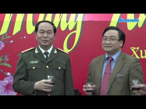Bộ trưởng Bộ Công an thăm, chúc Tết Thủ đô Hà Nội