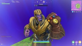 HOW TO DEFEAT THANOS in FORTNITE! NEW LIMITED AVENGERS INFINITY WAR x FORTNITE