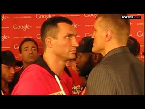 Face to face: Wladimir Klitschko vs Mariusz Wach