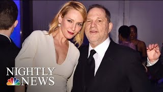 Uma Thurman Breaks Silence And Slams Harvey Weinstein | NBC Nightly News