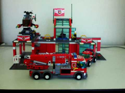 Lego Fire Station 7945 Related Keywords And Tags
